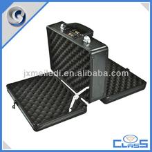 MLD-GC171 All Black Professional Manufacturing Wholesale Equisite Hundgun Aluminium Gun Case