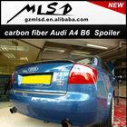 High quality carbon fibe/pp/pu/fiber glass fuel pump auto parts rear trunk spoiler for A4 B6 02-05