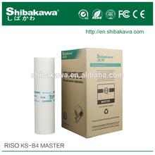 Riso KS B4 master roll&Riso KS B4 Digital stencil master roll