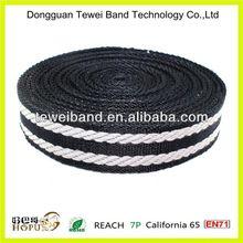 Bow tie webbing,2 inch nylon webbing,cotton polyester luggage elastic band