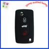 Unique design promotion for peugeot personalized car silicone key case
