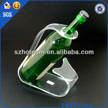 Manufacturer supplies exquisite led acrylic wine display Acrylic PMMA Plexi display stands for bottles