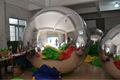 hot giro led bola de discoteca espelho para publicidade