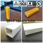 CTI>600 UP GM 203 square tubes Woven Glass Mat Reinforced Polyester (unsaturated) resin