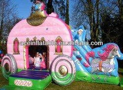Inflatable Princess Carriage Combo