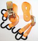 "EB5404 TUV/GS approved 1"" ratchet strap, ratchet tie down, lashing strap, cargo belt, cam buckle strap"