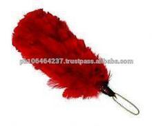 Hackle Head wear Red