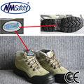 حار بيع جلد الغزال nmsafety 2014 سلامة أحذية العمل الأحذية المصنعة في الصين