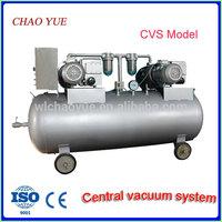 Rotary vane vacuum system