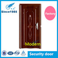 moderno porta de entrada de aço porta de segurança