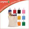 Designer cotton canvas tote bag