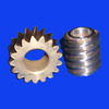 Customized small worm gear