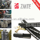 R13 flexible hose /rubber corrugated hose /high pressure hydraulic hose for crimping machine