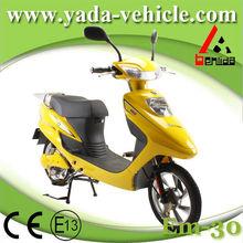Yada em30 48v 450w pmdc brushless 12ah chumbo- ao tambor de freio 16 polegadas scooters motorizadas