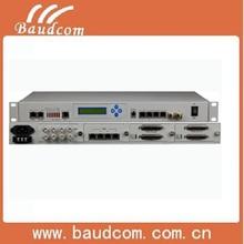Consol Telnet SNMP managable Multi-service Fiber Optic Multiplexer