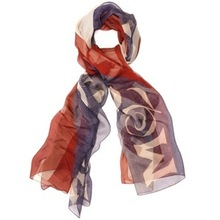 100% polyester silk feel scarf