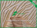 100% poliéster de terciopelo en relieve tela de tapicería y a prueba de agua de la tela para muebles