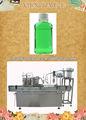 Llenado de líquido y máquina que capsula ( llenado de bebidas gaseosas y máquina que capsula, de llenado y que capsula línea )