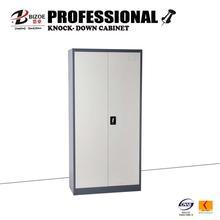 metal file tall steel double door storage cabinet with cyber lock