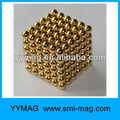 黄金の球の磁気ボールneocube/216個i- ネオキューブおもちゃが