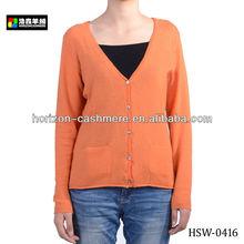 Bright Colour Lady Loose Cashmere Cardigan