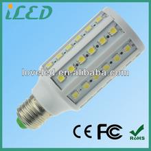 Modern Design 12W E27 Corn SMD LED Bulb Lamp 6400K 360 Degree 2 Year Warranty