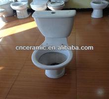 washdown p-trap two-piece toilet