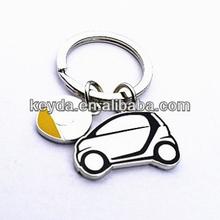 Promotional gifts items car shape keychain,custom metal key chain,America souvenir keychain