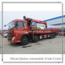 2014 high performance china brand dongfeng engine used truck crane