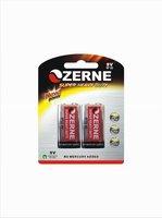 metal jacket 9V carbon zinc battery