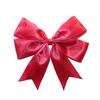 Wholesale fabric mini satin ribbon bows with elastic loop