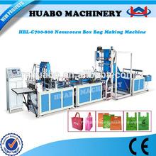 Huabo Machinery Ultrasonic non-woven bag/nonwoven bag/non woven bag making machine shopping bag machine