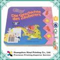 Libro de cartón para colorear para niños OEM