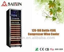 SRW-168S 450L Perfect Storage For Fine Wines Compressor Wine Cooler