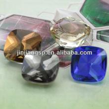 princess cut loose crystal , princess cut natureal stoneCHP1045