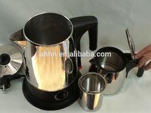Stainless steel turkish tea sets keep warm automatic shut off samovar