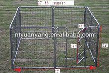 New Black iron Heavy Duty Pet Playpen Dog Exercise Pen Cat Fence