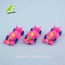 plastic mini toy race car for kids, promotional item, F1 race car model