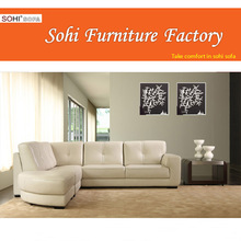 clean and tidy corner sofa, with pure foam