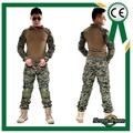 Combate tático uniforme gen 3 shirt+pants militares do exército e calças com almofadas de joelho na selva de camuflagem digital