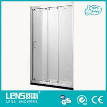Porta doccia in vetro senza cornice, un pezzo vetroresina cabine doccia