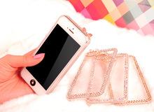 For iPhone 5g 5s bling bling rhinestone diamond bumper case cover