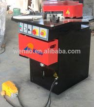 Qx28y- 6*200zk la esquina de metal muescas en la máquina, hidráulico del ángulo de corte, muescas en la máquina