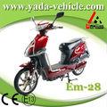 Yada in 28 48v 450w pmdc brushless 12ah chumbo- ao tambor de freio 16 polegadas usado ciclomotores
