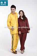 OEM factory reflective workwear raincoat waterproof windproof 190T oxford fabric giveaway rainwear