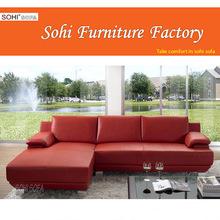 red corner sofa with metal feet, kuka leather sofa
