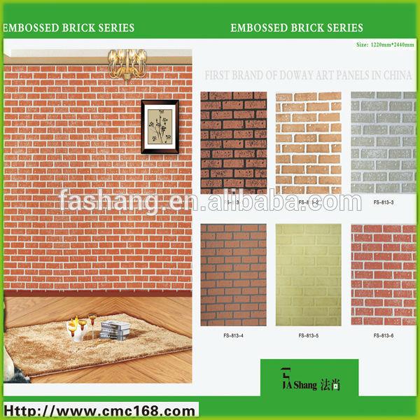 Int Rieur D Coratif Rev Tement Mural Panneau Mur De Briques Panneaux Autres Planches Id Du