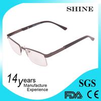 Eyeglasses without nose pads eyewear optical frame in yiwu