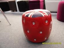 PU leather ottoman with diamond/ottoman furniture/leather ottoman/cheap ottoman/ottoman coffee table