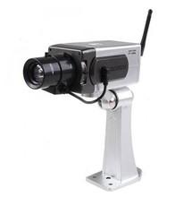 CCTV DVR Surveillance camera IR Simulation waterproof dummy wireless Camera Motorized Box Camera with Switchable On/Off LED